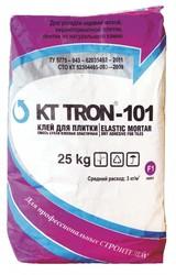 Клей КТтрон-101 для плитки эластичный гидроизоляционный с повышенной в